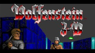 Inside Castle Sturmwind | Wolfenstein 3D: Project Totengraeber - Level 3 | Mykita Gaming