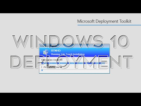 Building a Windows 10 Reference Image Using MDT 2013 Update 1