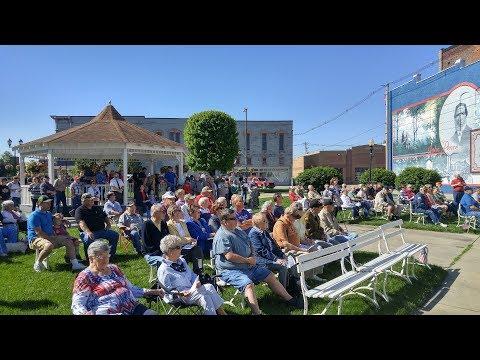 2017 Memorial Day Program Frankfort, Indiana at Veterans Park