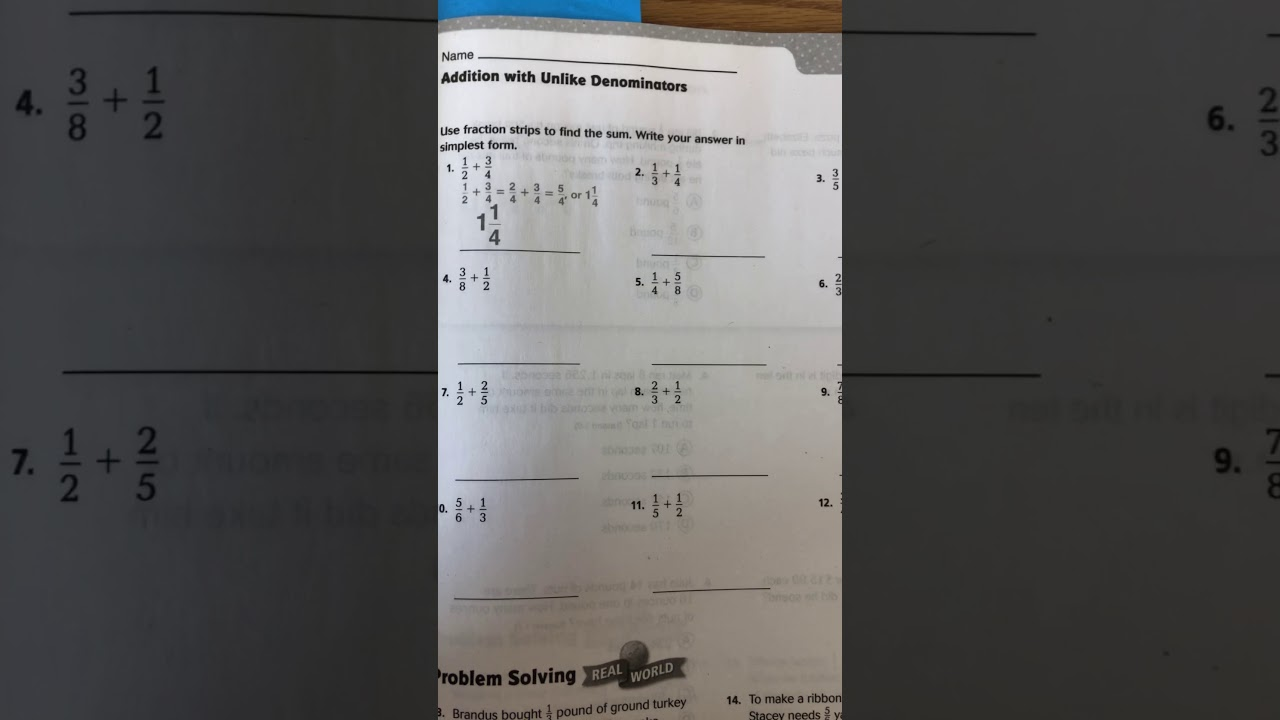 Lesson 6 1 Answer Key 5th Grade