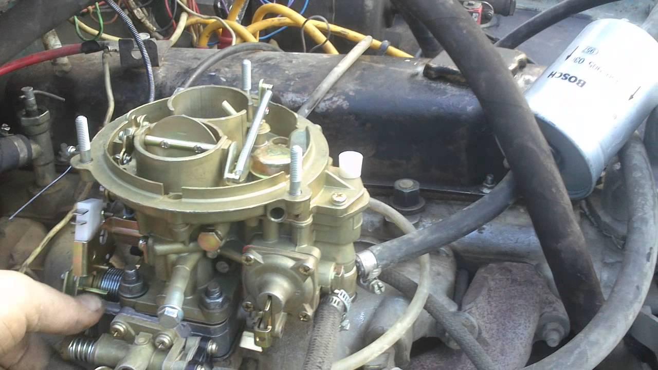 Карбюратор к 151 схема подключения шлангов 406 двигатель