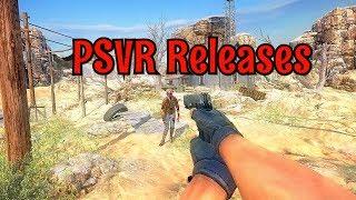 NEW PSVR Games in June 2018  🔥🎮
