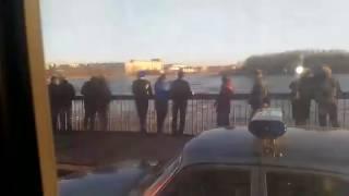 Утонули дети в Ижорском пруду. Без экшена.