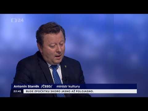 Ministr kultury Staněk - Kdybych věděl, že jsem udělal něco špatně, odstoupil bych.