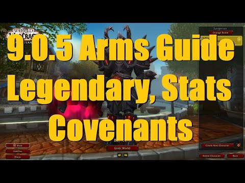 9.0.5 Arms Warrior PvP Guide: New Legendary, Stat & Covenant Combos - WoW Shadowlands 9.0.5