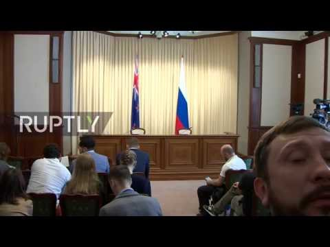 LIVE: Lavrov holds press conference with New Zealand counterpart