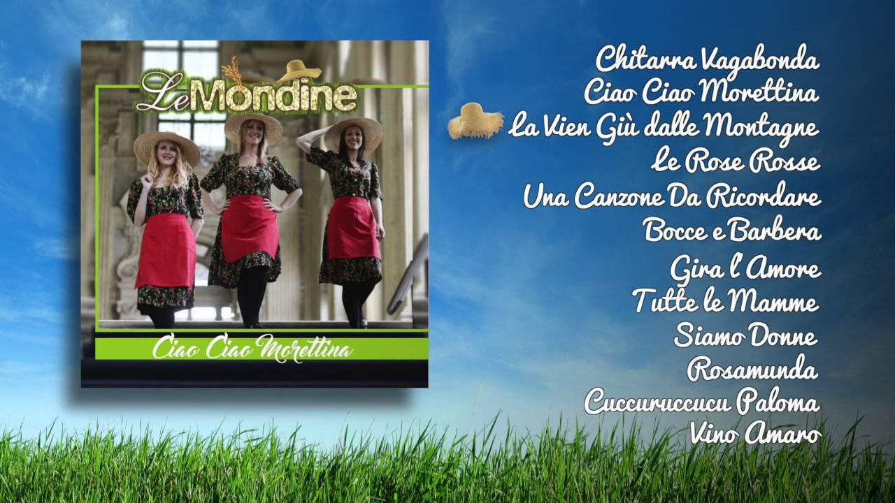 Le mondine ciao ciao morettina youtube for Ciao youtube