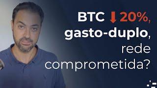 Queda de 20% no bitcoin devido à fraude na rede?