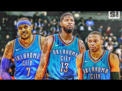 CARMELO ANTHONY TO OKC!? CAN RUSSELL PAUL GEORGE N MELO WIN A RING?