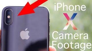 iPhone X 4k 60fps & 1080p 240FPS Footage Test (Monterey Aquarium )