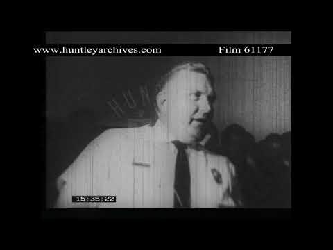 Civil Rights in Albany, Georgia in 1962.  Archive film 61177