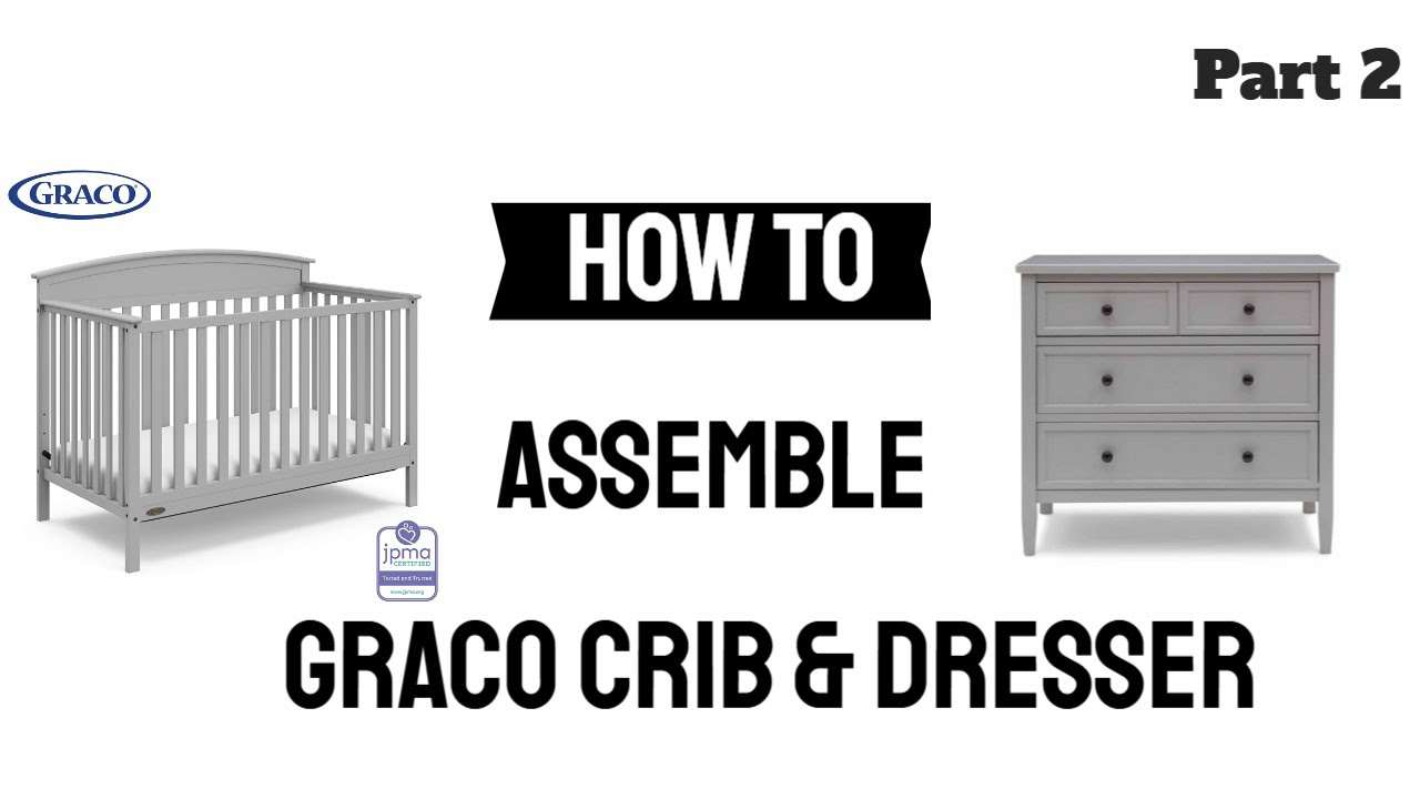 How to Put Together Graco Baby Crib - YouTube