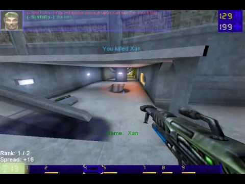 Unreal Tournament GOTY last level Xan Boss fight