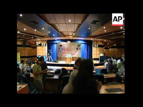 Ahmadinejad ahead after partial results, celebration, Mousavi