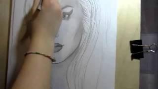 Drawing Amy Winehouse