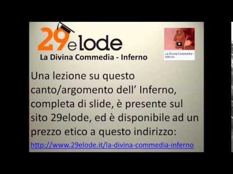 Il canto terzo dell' Inferno di Dante vv.  1-60