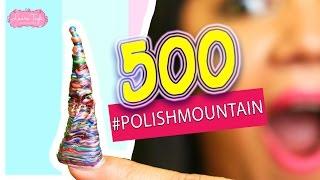 500 Capas de Esmalte para Uñas | #POLISHMOUNTAIN Laura Tagle