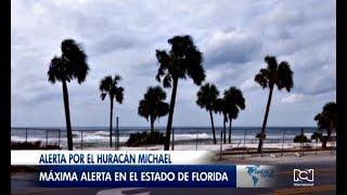 Huracán Michael toca tierra en el estado de la Florida
