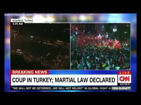 Turkey Marshall law declared