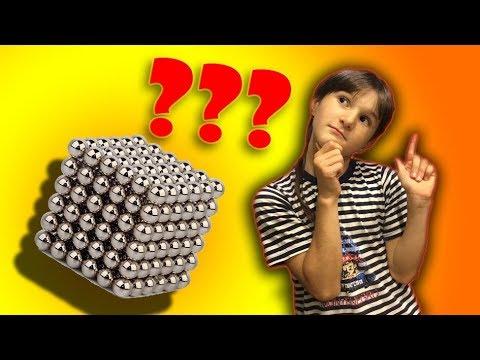 Собираем браслет из магнитных шариков