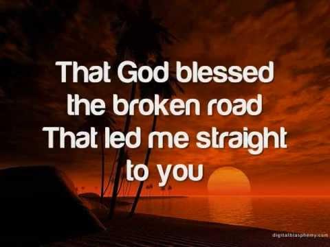 God Bless The Broken Road - Toni Gonzaga (with lyrics)