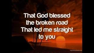 God Bless The Broken Road - Toni Gonzaga (with lyrics)