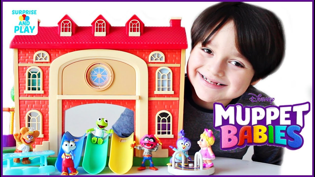 Muppet Babies Schoolhouse Playset and Playroom Figures Set Muppet Babies  Toys