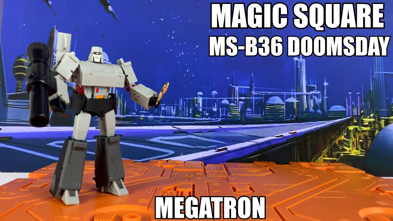 Magic Square MS-B36 DOOMSDAY (Legends Megatron) Unboxing and Review by Enewtabie
