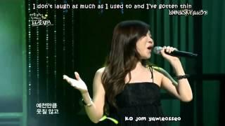 Davichi - Is it still beautiful? LIVE [eng sub+kara]