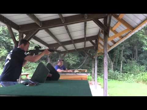 Daniel Defense DDM4 V7 Shooting