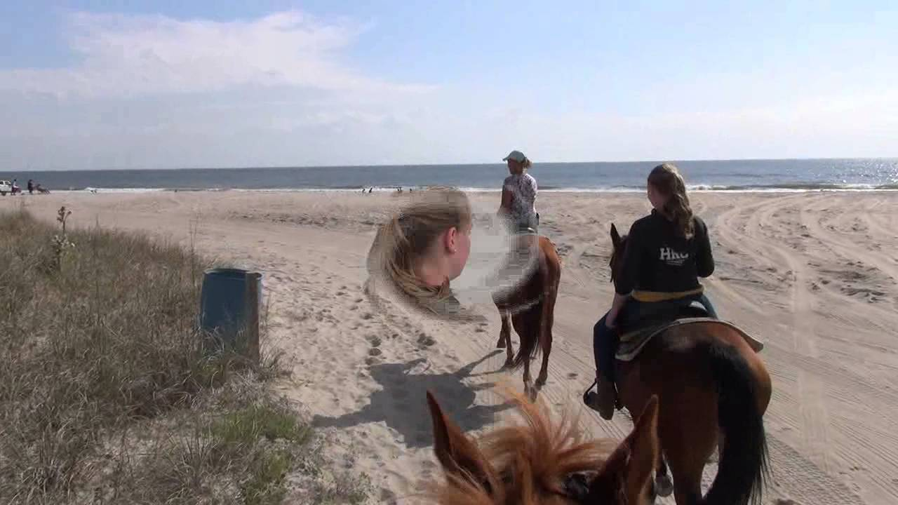 Debbie Manser Horseback Riding On The Beach In Florida You