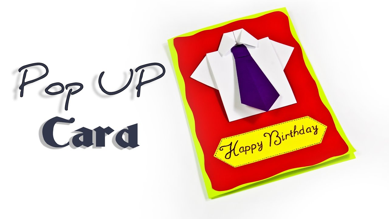 instructions how to make pop-up birthday cards