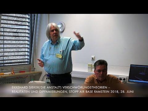 Ekkehard Sieker('Die Anstalt') Verschwörungstheorien - Realitäten und Diffamierungen, StoppRamstein