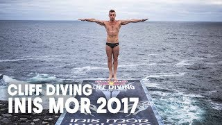 Winning Cliff Dives from Inis Mór | Cliff Diving World Series 2017