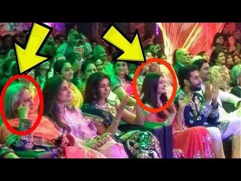 Aishwarya Rai Bachchan and Jaya Bachchan ignoring each other at a wedding recently|Proof