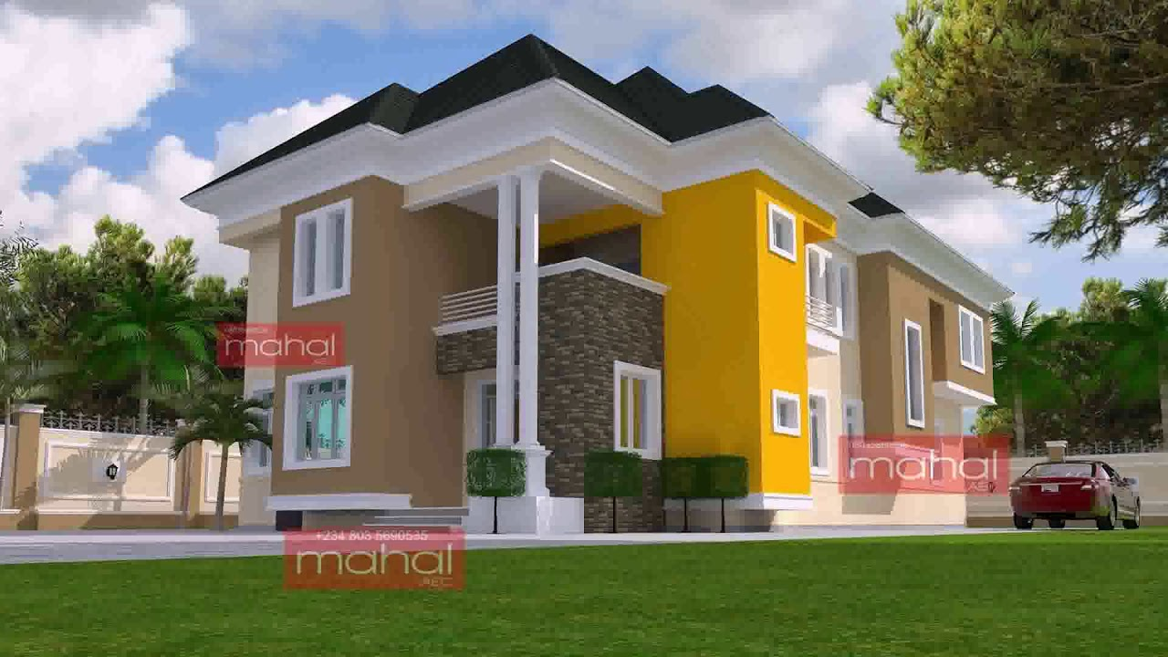 Duplex House Design Pictures In Nigeria See Description