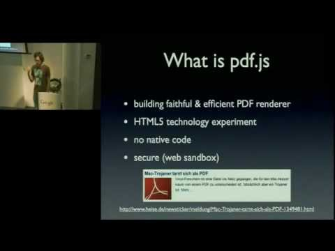 PDF.JS  Zurich GTUG 28th Sept.