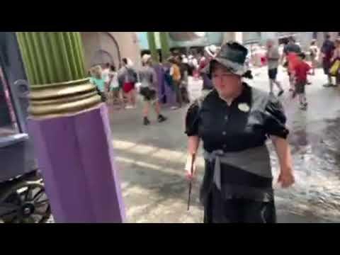 ???? ПЛЮНУЛ ОГНЕМ ???? ведьмы Гарри Поттер UNIVERSAL STUDIOS ORLANDO FLORIDA USA 09.07.2019