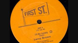 First Street can   Leroy Brown   I