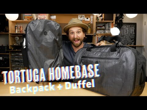 Tortuga Homebase Travel Backpack & Duffel #DigitalNomad