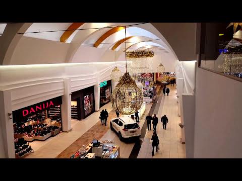 Mega Super Mall in Kaunas Lithuania