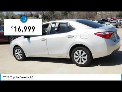 2016 Toyota Corolla LE Maplewood, St Paul, Minneapolis, Brooklyn Park, MN P18106