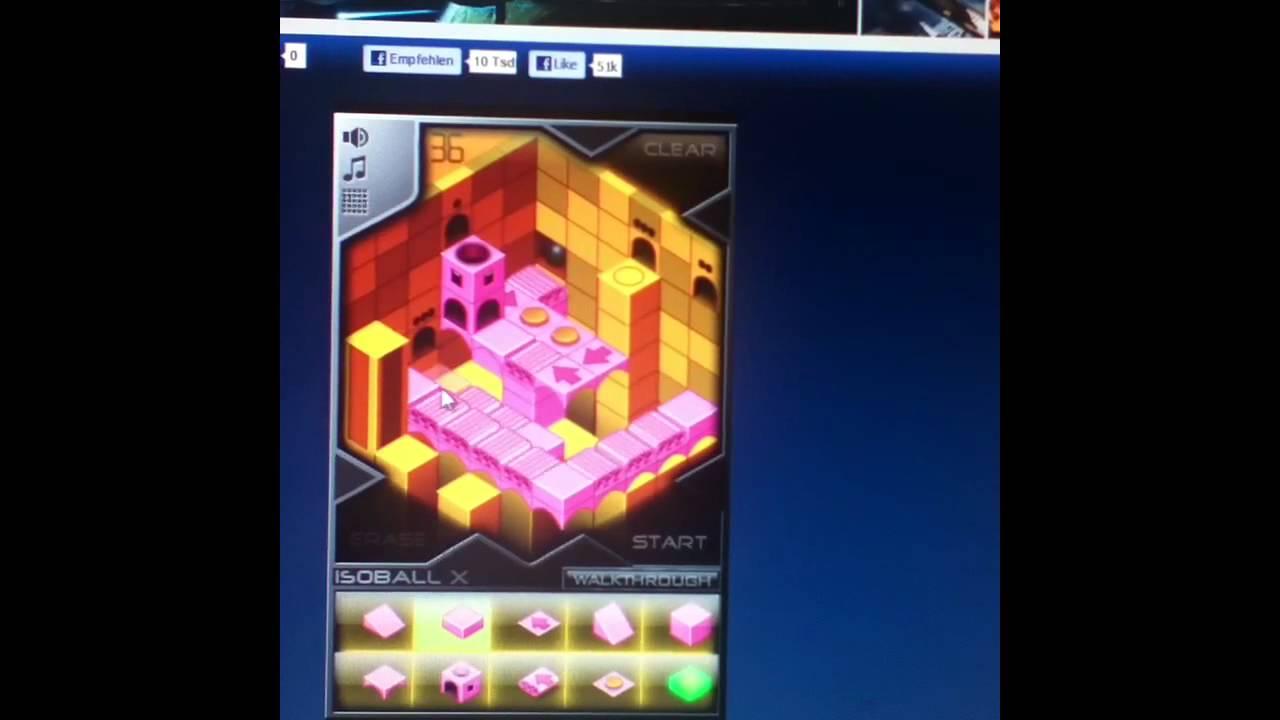 Isoball x1 at hacked arcade game level 36 sandbox walkthrough