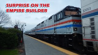 Surprise on The Empire Builder