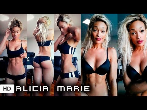 ALICIA MARIE Cosplayer Fitness: BOOTY WORKOUTS + ROUTINE + DIET