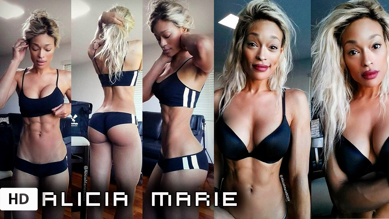 Alicia Marie Cosplayer Fitness Booty Workouts Routine