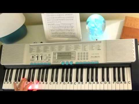 How To Play Mad World Gary Jules Letternoteplayer Youtube