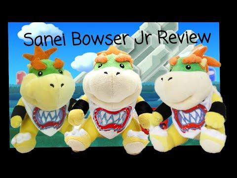 Official Genuine 2011 Sanei Little Buddy Bowser Junior Plush Review