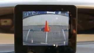 めちゃ簡単! 車内ガラスに貼り付けるバックカメラ BCAM6 Beat-Sonic タント
