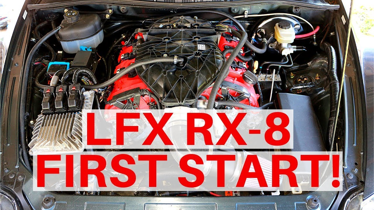 LFX Swapped RX-8 First Start!